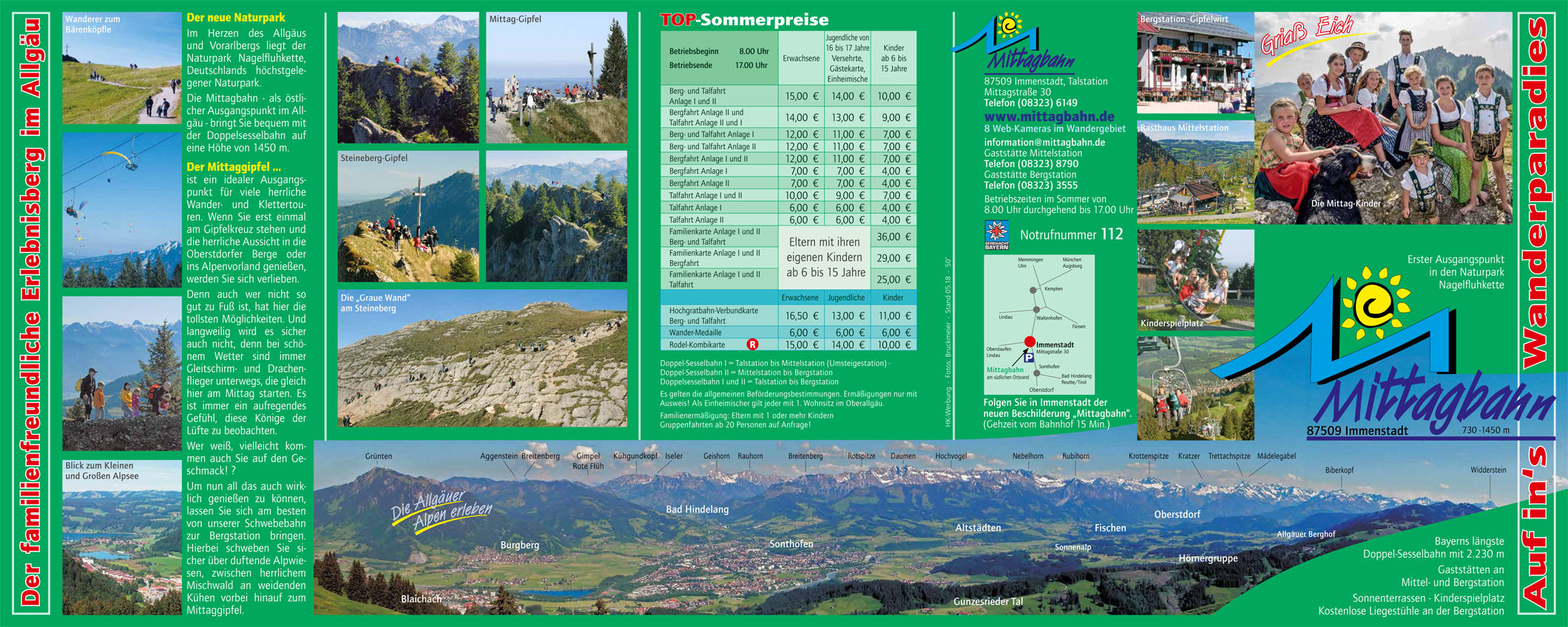 Mittagbahn   Flyer Sommer 2010k